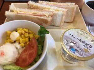 【朝カフェ】九段下・カフェドクリエ