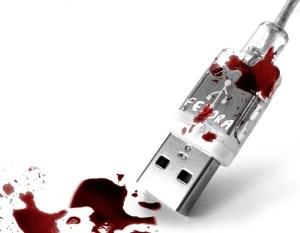 El arma humeante, una memoria USB