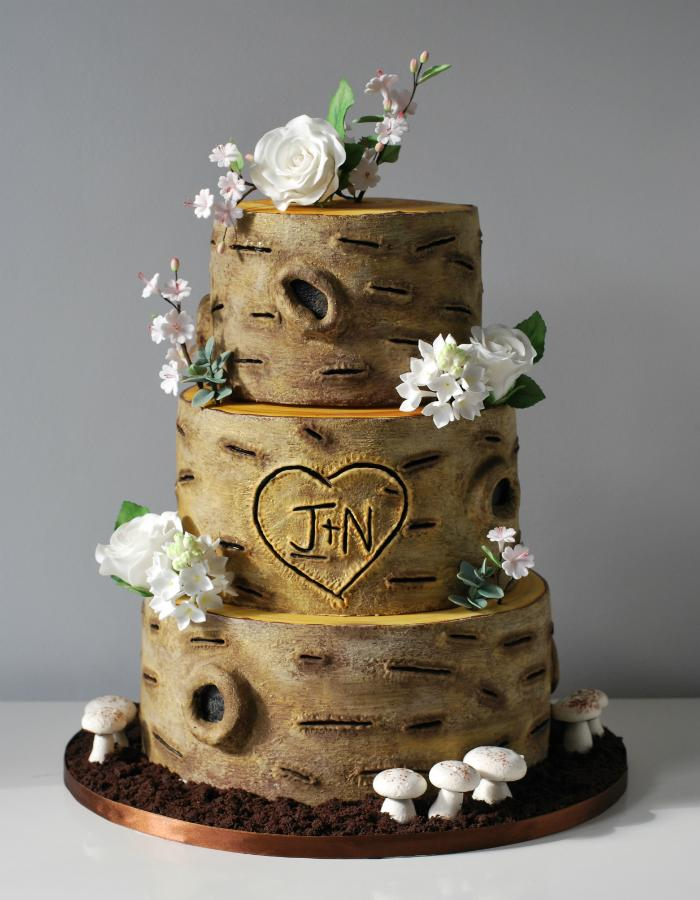 Country Birthday Cakes Topsy Turvy