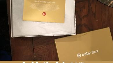 Photo of What's Inside the Target July 2017 Baby Box?