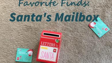 Photo of Favorite Finds – Santa's Mailbox from Target – Christmas 2018