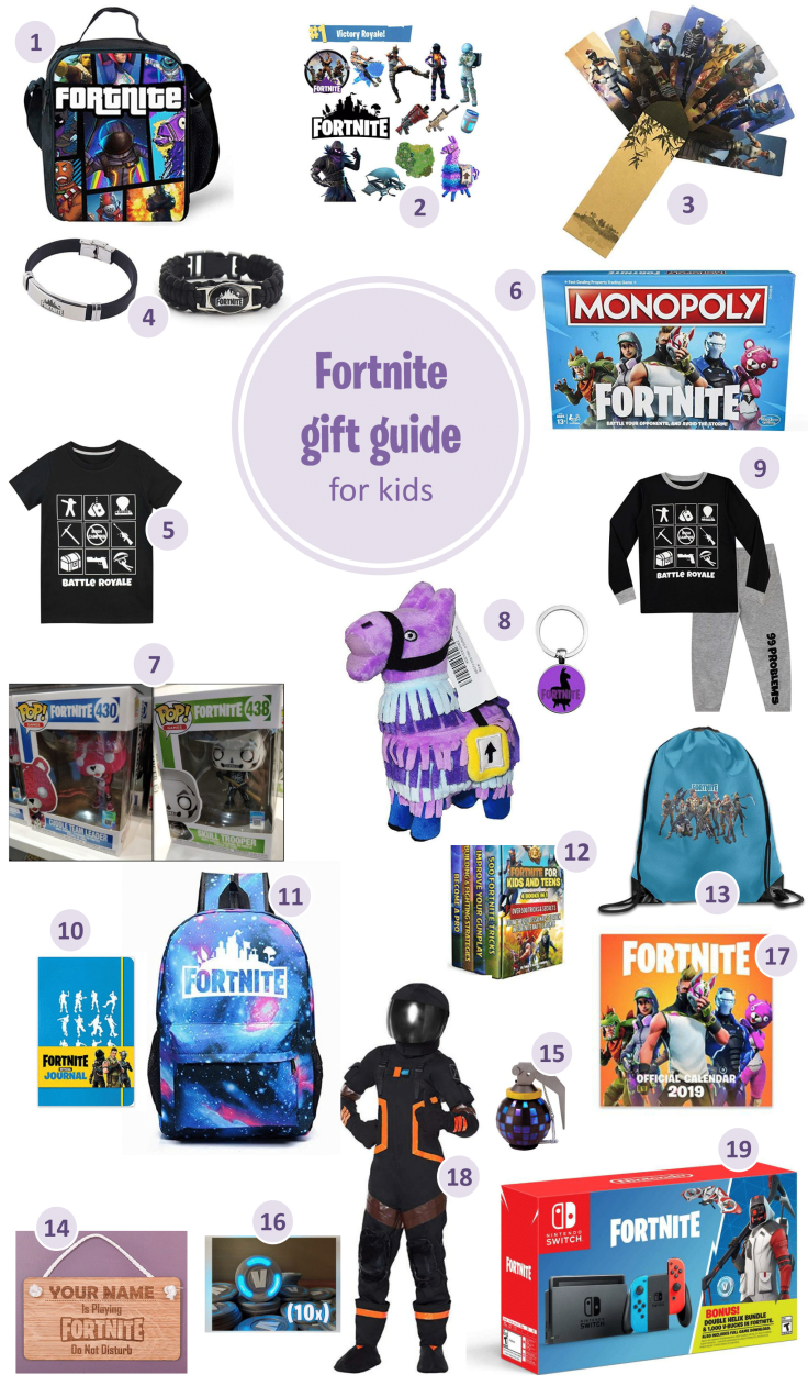 Fornite gifts for kids a gift guide for the Fornite fan - Fortnite gifts for kids - a Fortnite gift guide