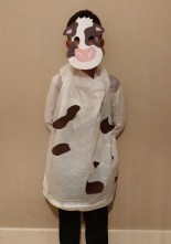 Last-minute-Halloween-costume-quick-and-easy: The Cow