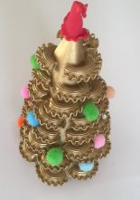 DIY christmas tree crafts - Pasta Crafts