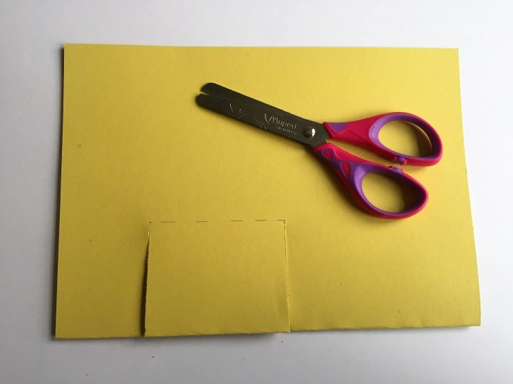 How to make a pop up card - Step 3