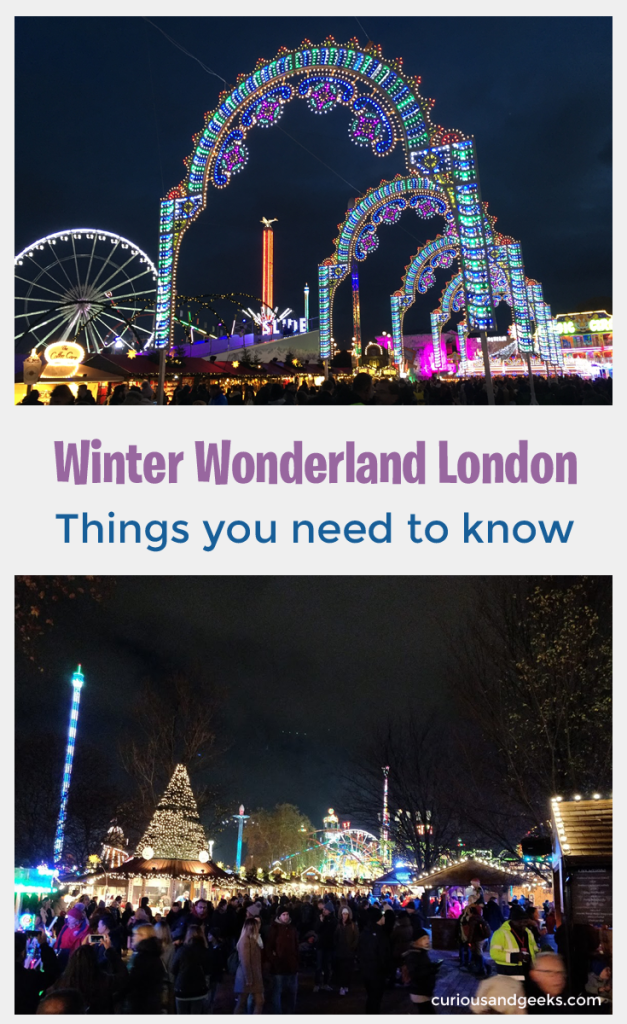 Winter Wonderland with kids - Things you need to know before visiting Winter Wonderland in London