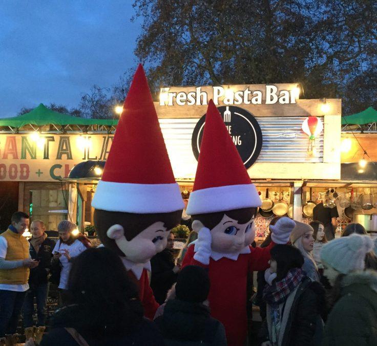 Winter Wonderland with kids - Meet the elf on the shelf