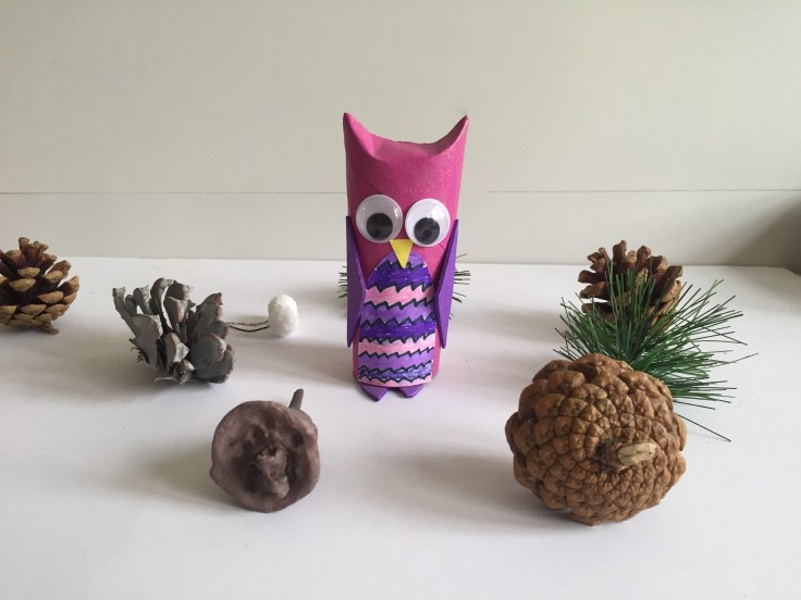 Toilet Paper Roll Owls - Second model