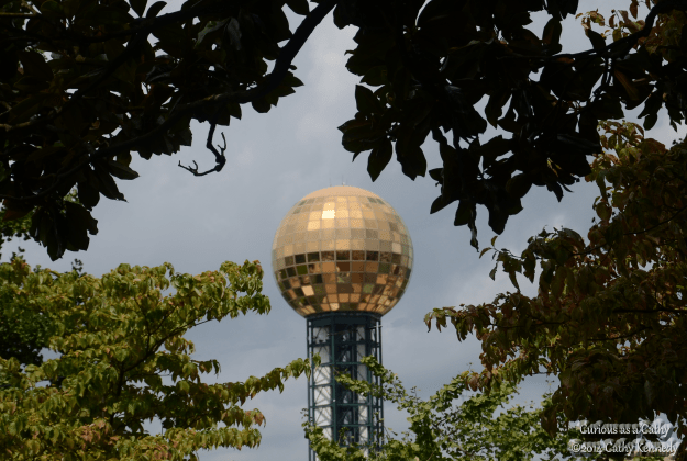 "1982 World's Fair iconic ""Sunsphere"""