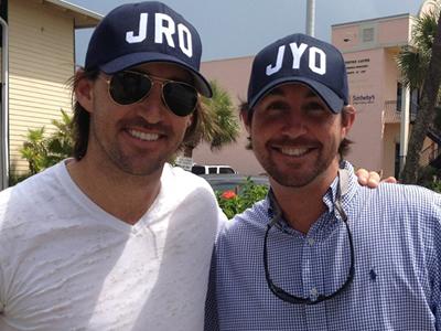 LtoR: Jake with brother, Jarrod ~image borrowed~