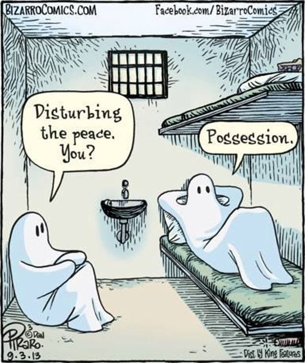 bizarrocomics ghosts