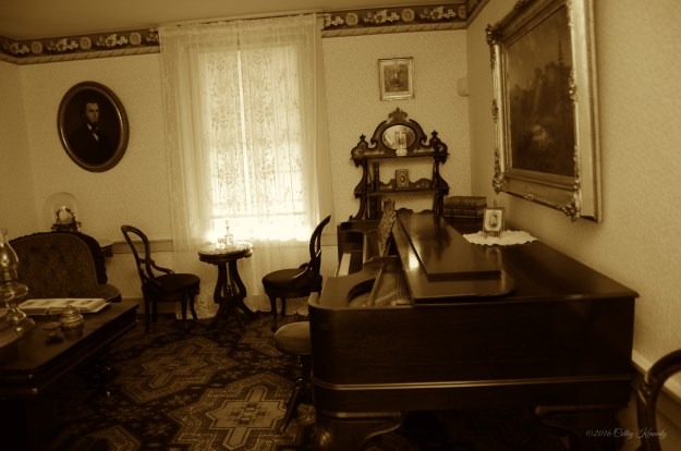 The family parlor was a place to entertain guest with live music unlike today in our homes where we stream music.