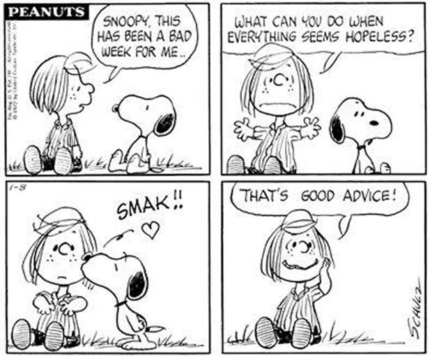 snoopy smak peppermint patty