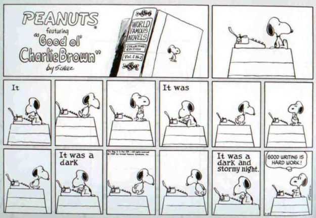 snoopy the writer4