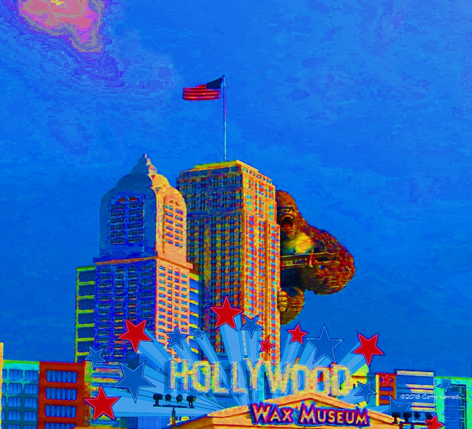 WW 8-3-2016 King Kong Pigeon Forge - artsy effect saturation IMG_0150