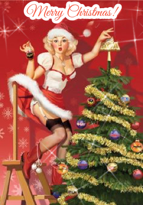 vintage-pinup-girl-merry-christmas
