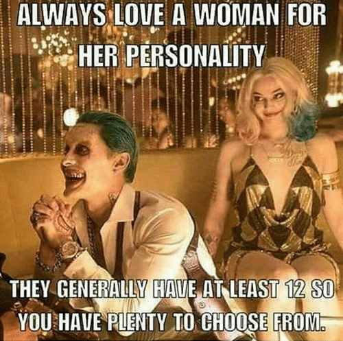 Love A Woman For Her Personality: Alf, Woman's Personality, You Are What You Eat, Alt