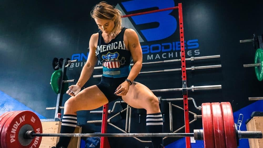 powerlifting deadlift female