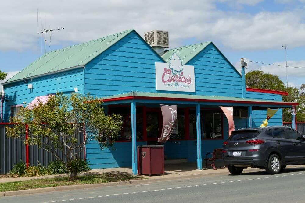 Lockington – a little town big on ice cream
