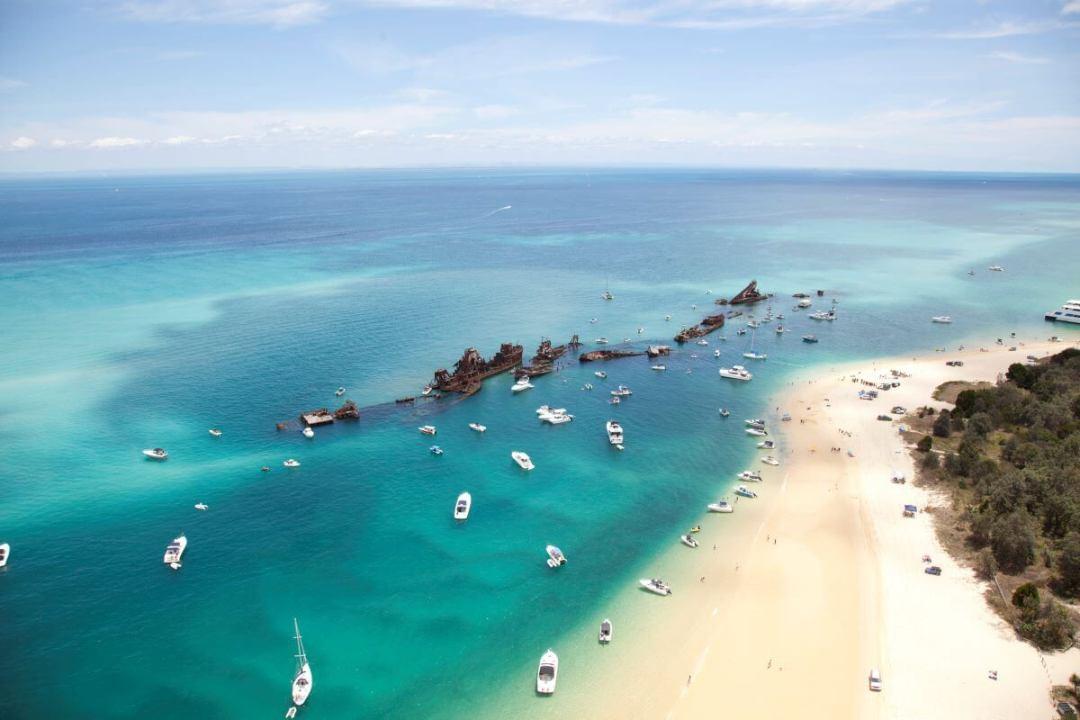 Brisbane Day Trip to Moreton Island