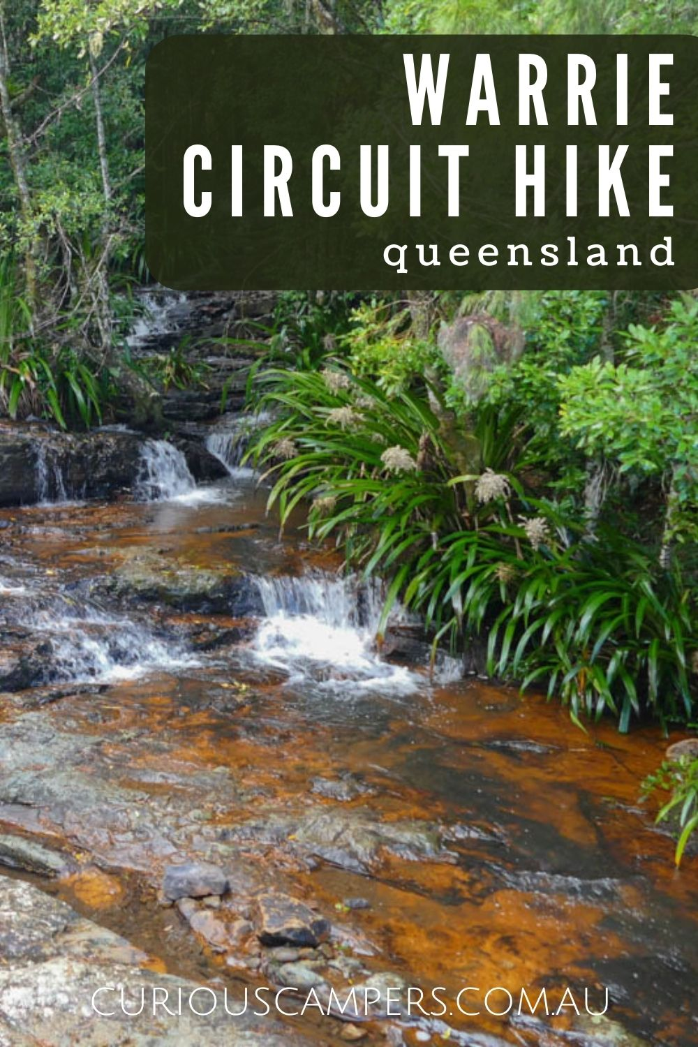 warrie circuit hike