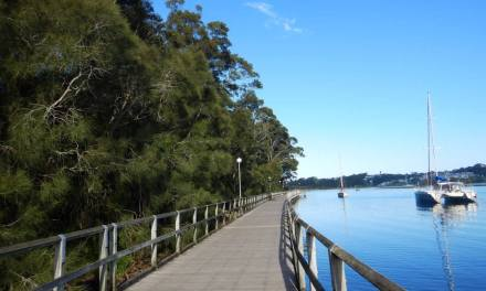 Mill Bay Boardwalk – Walk, Cycle or Snorkel?