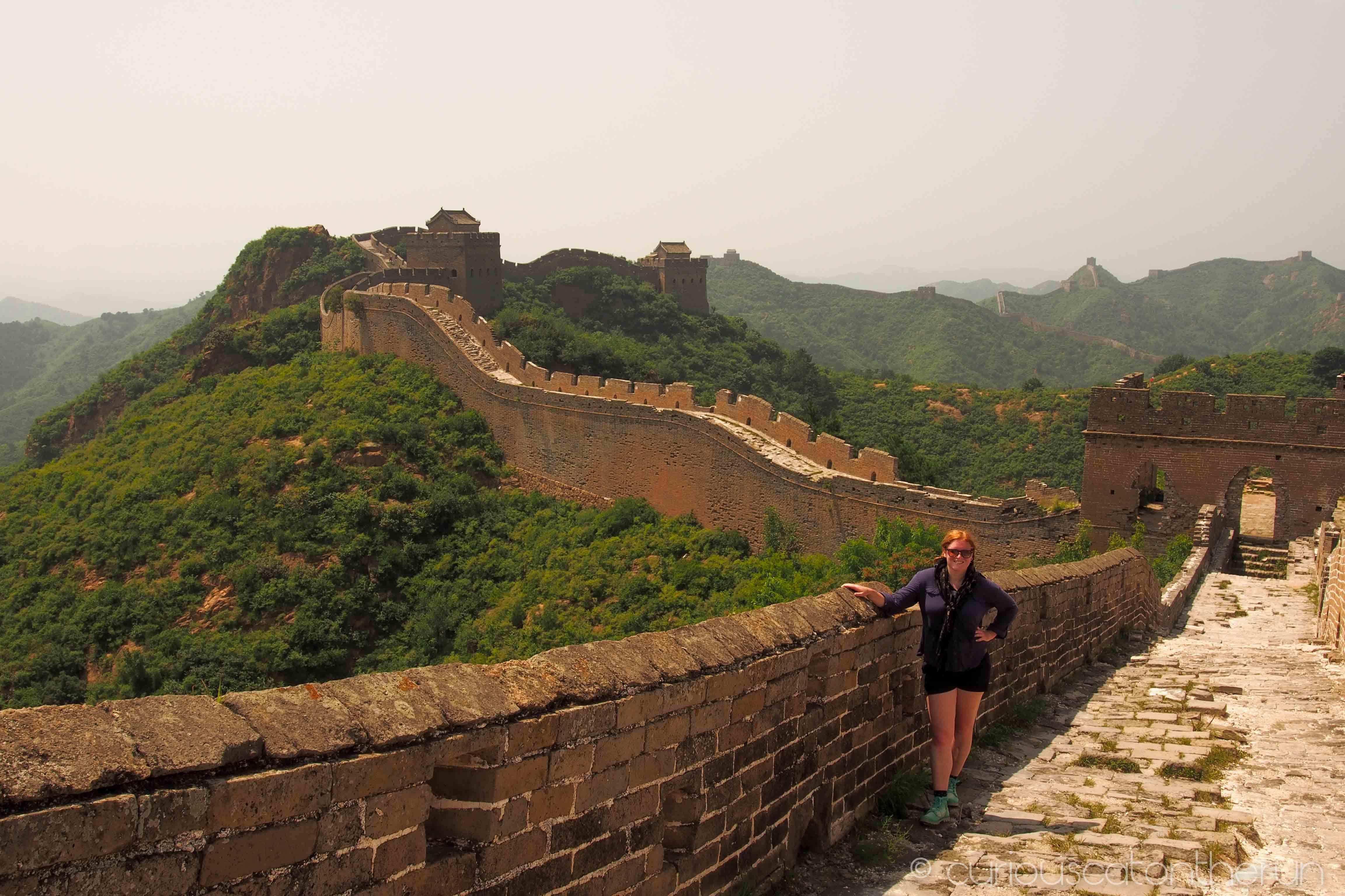 Walking The Great Wall Of China Jinshanling