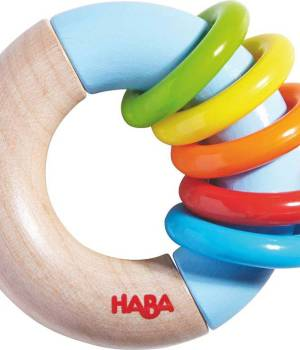 Clutching Toy Ring Around