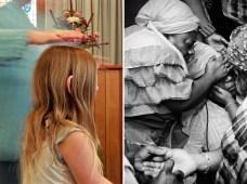 Reverend Jean heals Jennifer, Lily Dale, NY 2003. Spontaneous healing, Brooklyn, NY, 2009.