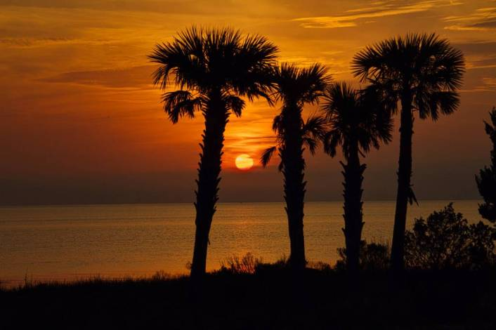 St George Island Florida Sunset