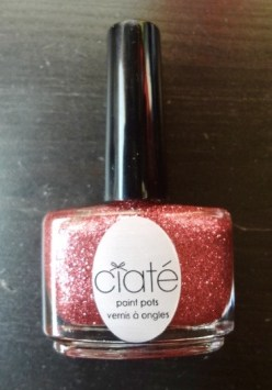 Honestly my first glitter nail polish