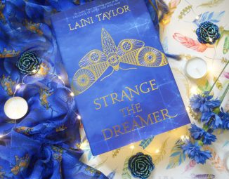 Strange the Dreamer flat lay by Tizzy Brown