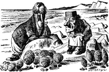 The walrus and the carpenter illustration