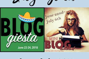 My Blog Goals for June-July 2018 #Bloggiesta #BlogAhead