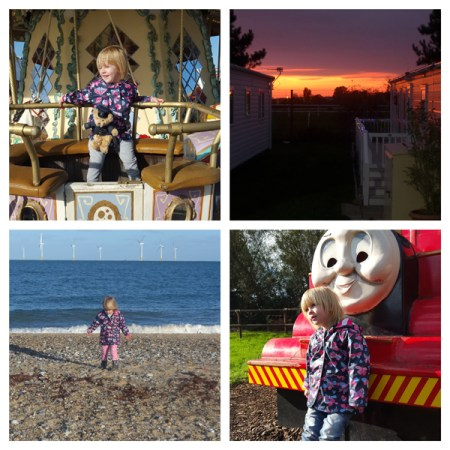 A collage of photographs from the seaside town of Great Yarmouth in England.