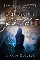 book cover for A Question of Faith