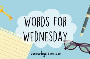 Words for Wednesday: Forgotten
