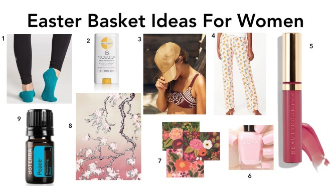 Easter Basket Ideas For Women