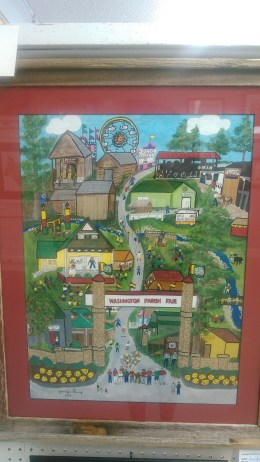 An artist's depiction of the fair