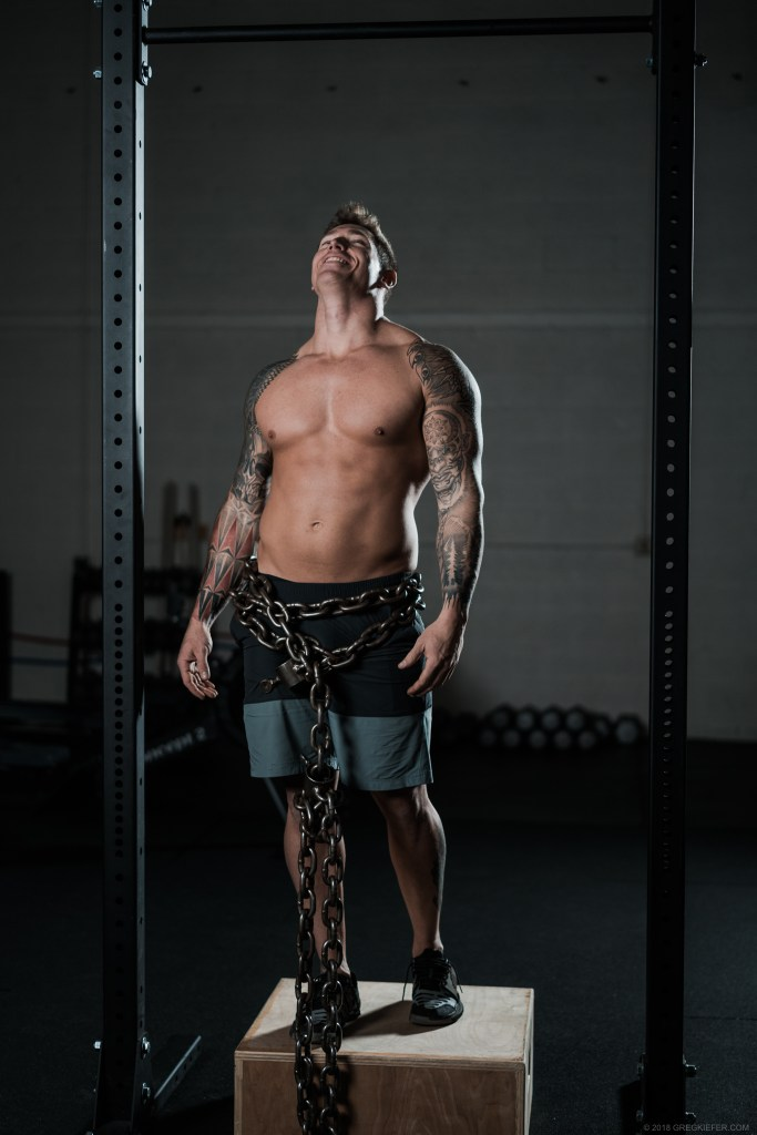 Dylan Freed - Body Builder - With Chains