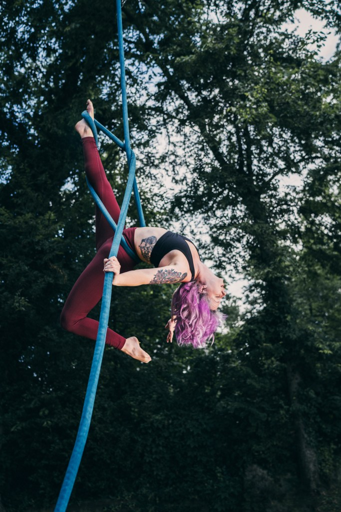 Bailey Freeman - Aerialist of Nashville - Aerial Rope