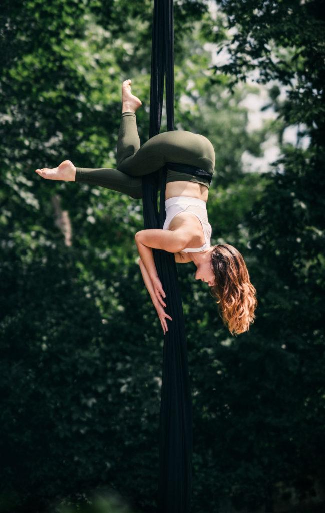Paige Muirhead - Aerialists of Nashville - Aerial Silks