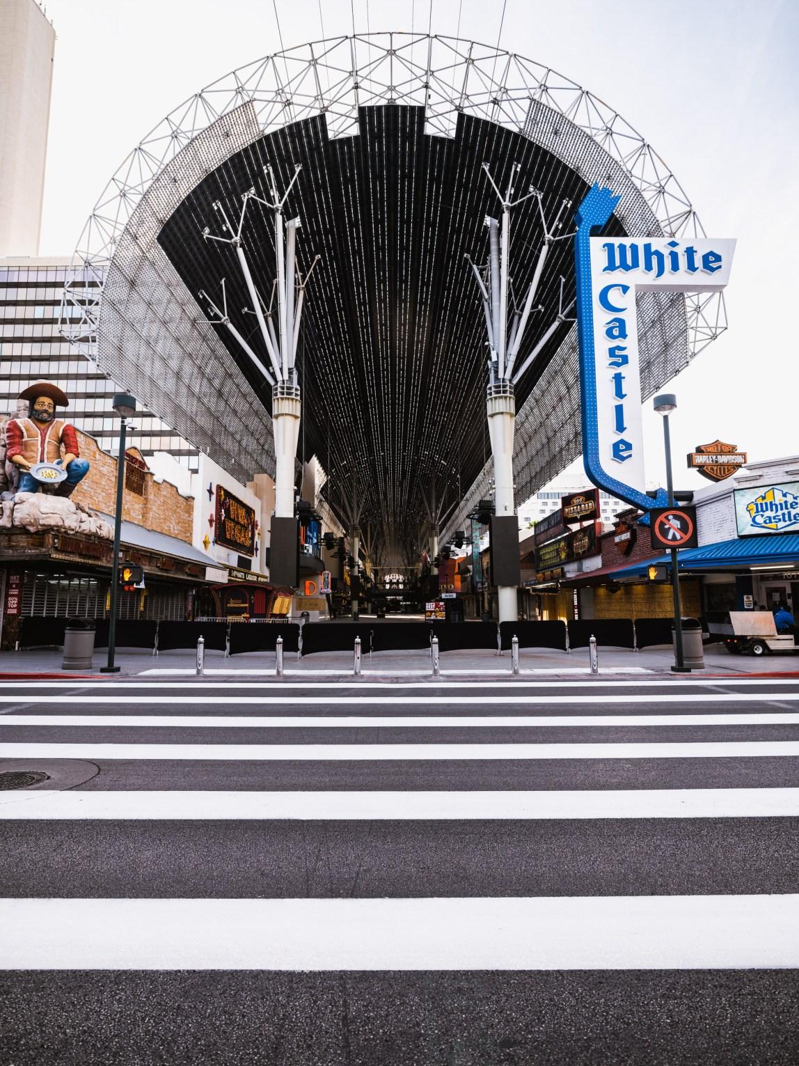 Las Vegas - Fremont St. - Covid-19