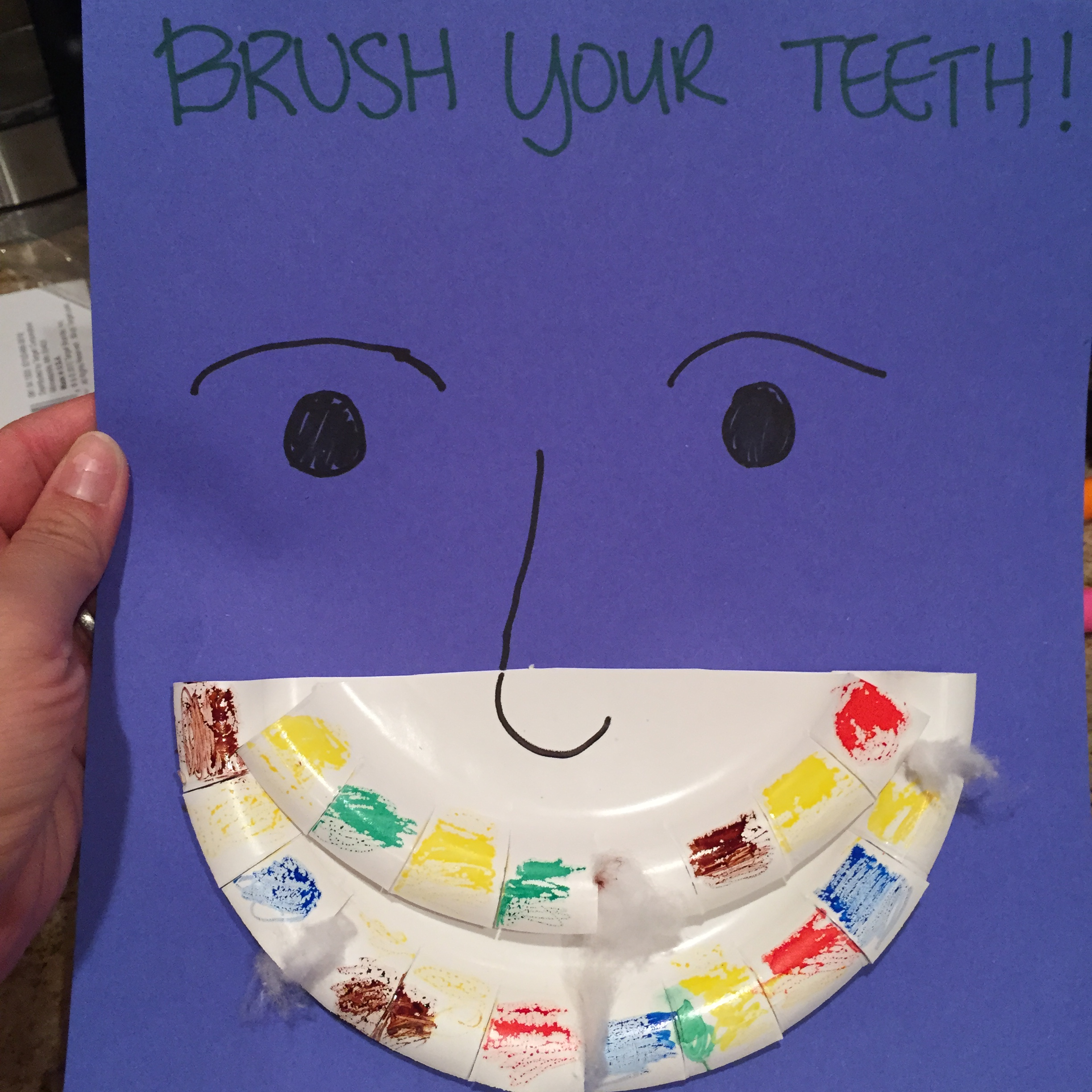 Would You Kiss That Mouth Teeth Cleaning Activity For Toddlers