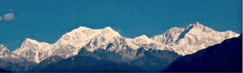 kanchenzonga from pelling