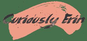 Curiously Erin Blog Logo