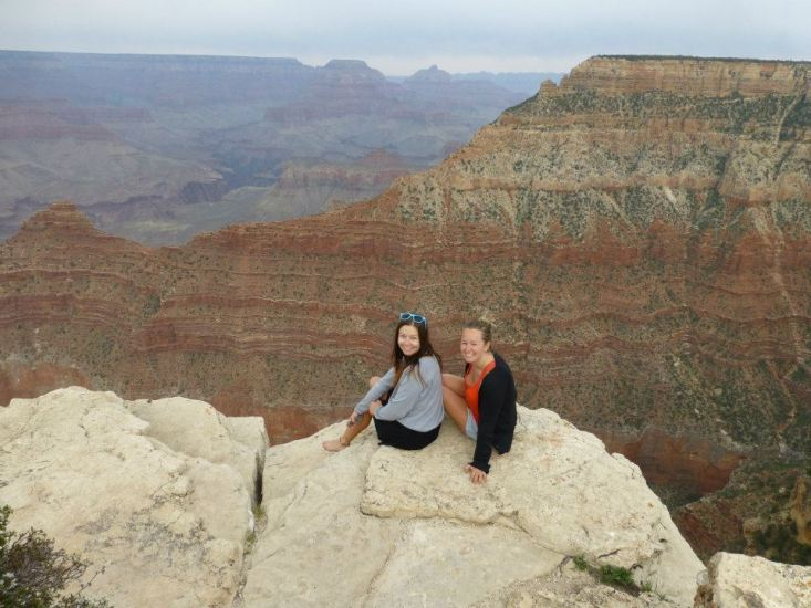 Hello grand canyon, Arizona, USA