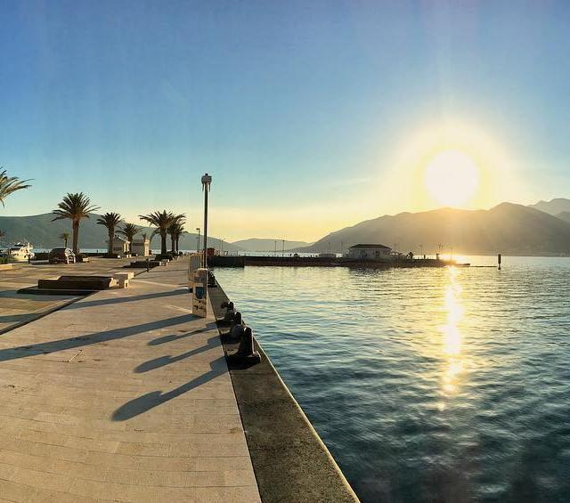 Sunsets in the Mediterranean Tivat girlsvsglobe Montenegro dametraveler getoutside Sunsethellip