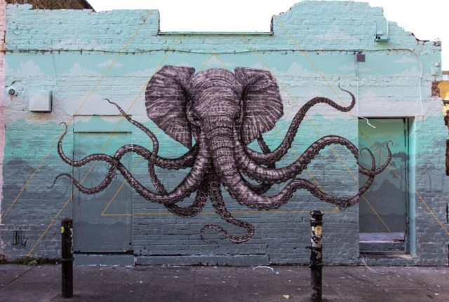 Elephant Graffiti
