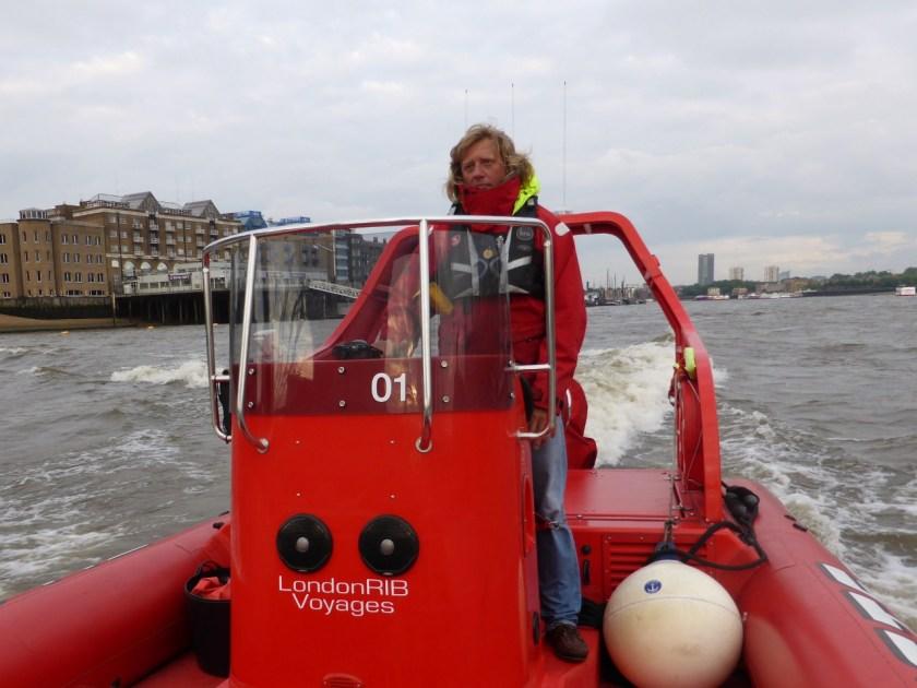 London Rib voyage